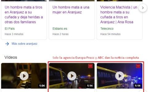 Tiroteo en Aranjuez: un hombre mata desde una ventana a su cuñada y hiere a su suegra y otra cuñada