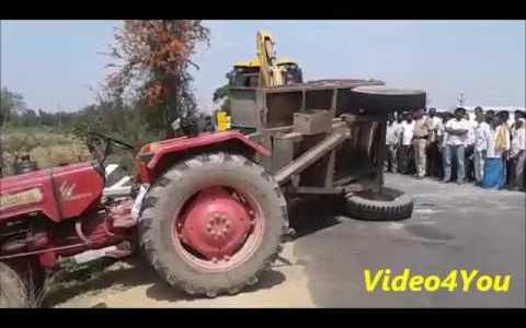 Cuando ayudas a un tractor suicida