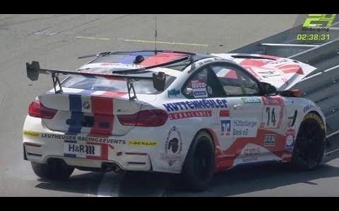 El espíritu de Benny Hill se pasó por las 24h de Nürburgring