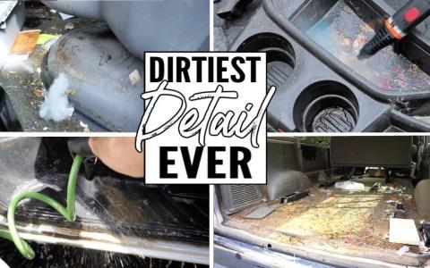 Gustico visual: Limpiando el interior del coche más warrior del planeta