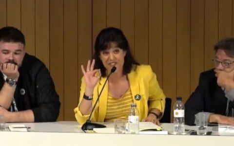 Beatriz Talegón, lejos de moderar su bocachancla después de tanto zasca, se ha venido arriba