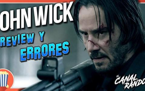 Errores de películas: John Wick