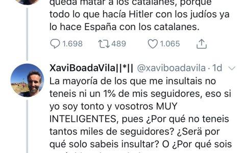 A Xavi se le ve extremadamente inteligente, seguro que tiene muchos seguidores...