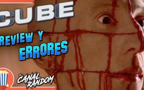 DOBLE ración de Errores de películas: Cube y SCREAM.