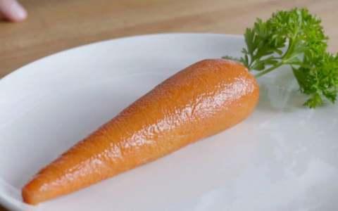 Veganismo inverso: Crean «zanahoria» hecha de pavo que sabe igual a la verdura