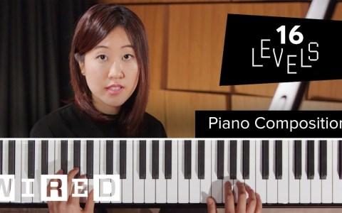 PIANO: 16 niveles de complejidad en la composición