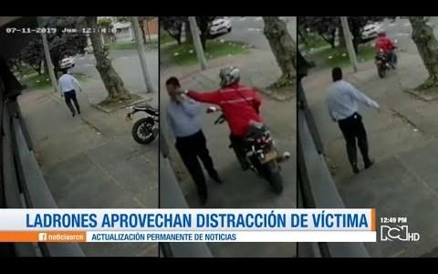 Robos sobre dos ruedas: Un tipo de robo muy común en Bogotá
