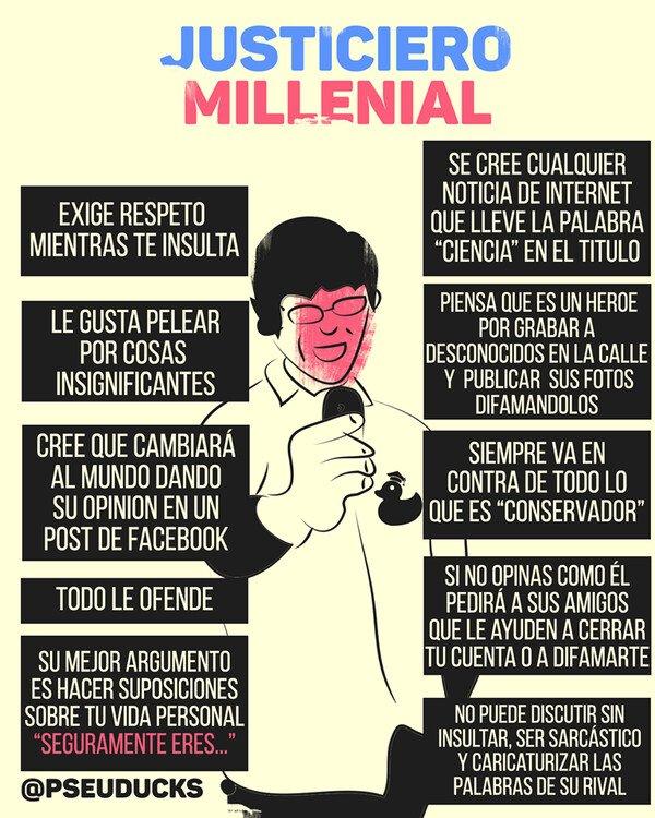 EL JUSTICIERO MILLENIAL