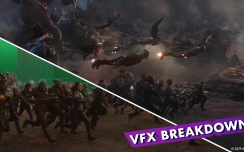 Avengers: Endgame - Batalla final con y sin CGI