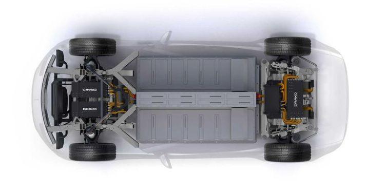 El GT de 4 puertas más potente del mundo se llama Drako GTE, tiene 1200cv, y es eléctrico