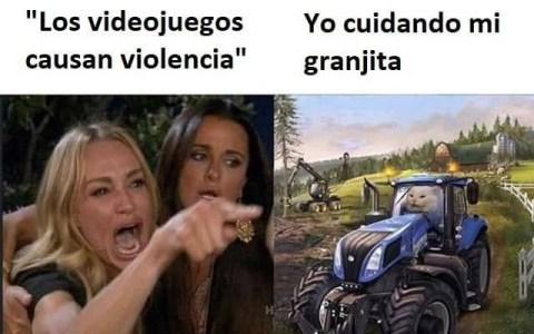 """""""Los videojuegos causan violencia"""""""