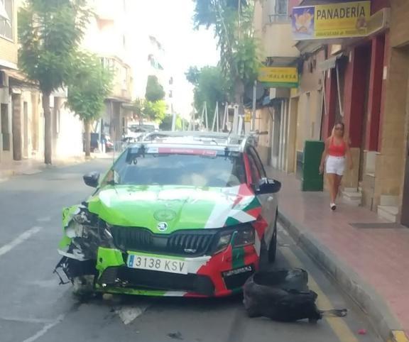 ¿Vuelta ciclista a España o Rally de Torrevieja?
