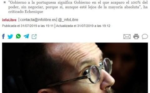 La culpa es suya por intentar blanquear un partido podrido como el PSOE