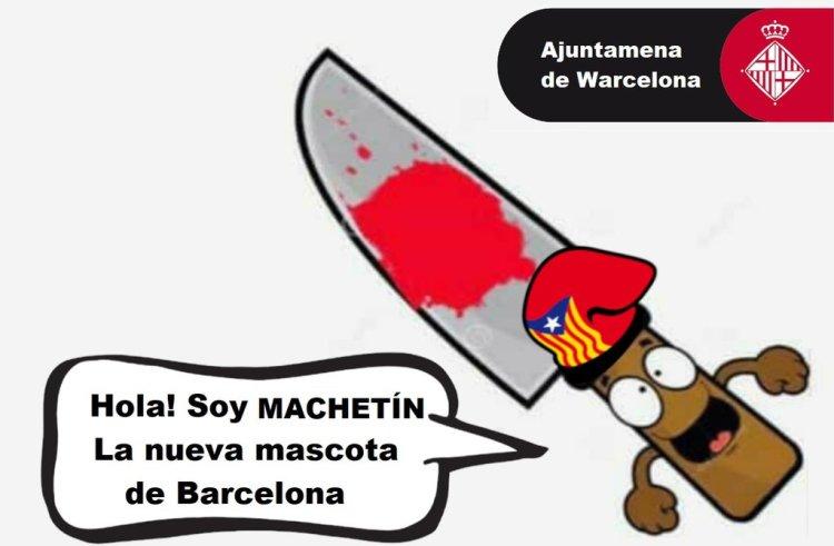 Estaría bien como mascota para unas nuevas Olimpiadas en Barcelona