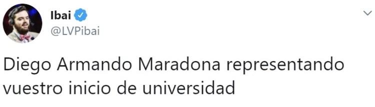 Diego Armando Maradona: un hombre de palabra