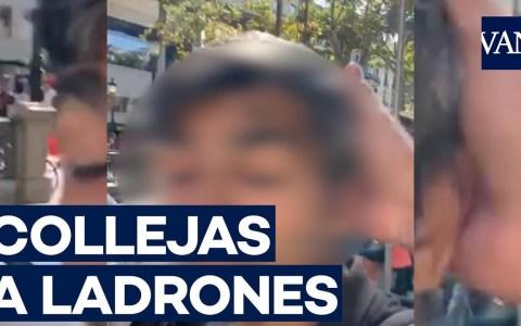 Hay un nuevo héroe en la ciudad de Barcelona: el repartidor de collejas a carteristas