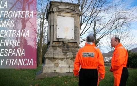 Isla de los Faisanes: seis meses española y seis meses francesa
