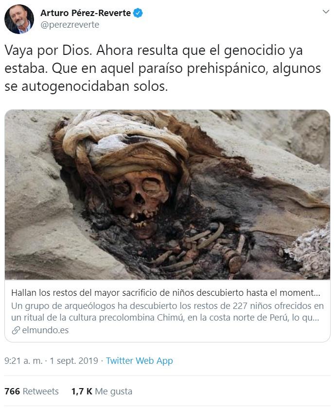 Malditos españoles conquistadores y sus estúpidos genocidios...