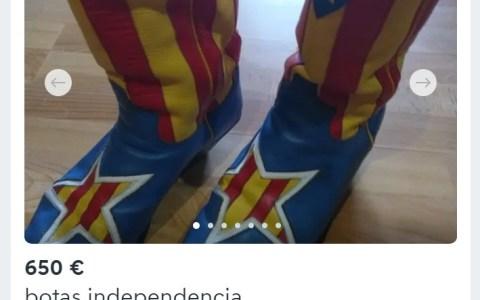 Las botas más vendidas en Wallapop ahora mismo
