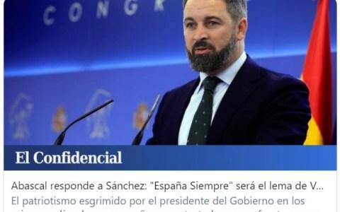 """Aún está libre el eslogan """"España, fuaa, menuda movida""""."""