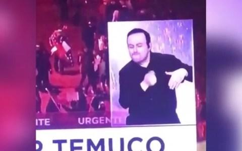 ¿Cómo puede un intérprete de sordos representar las protestas de Chile? Así es como lo hizo este crack