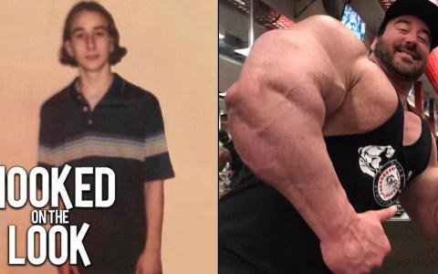 Craig Golias: el chaval de instituto acomplejado que ganó 90 kilos de puro músculo y ahora es un monstruo