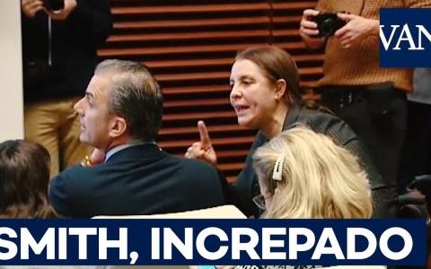 El vídeo del día: Una mujer le suelta un discurso a la oreja a Ortega Smith, que no sabe dónde sa metío