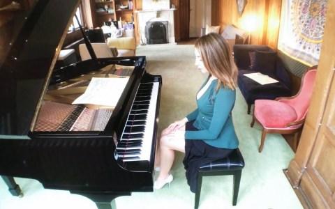 Tocando Moonlight Sonata a velocidad absurda