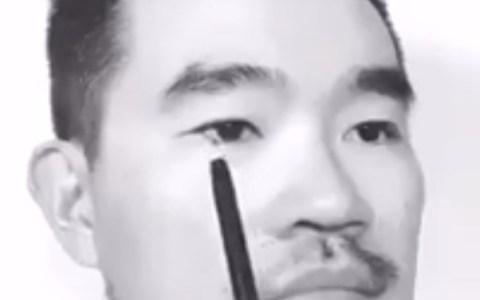 Aprende a pintar caras hiperrealistas en blanco y negro