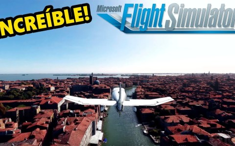 Gameplay del Flight Simulator 2019: como volar sobre Google Earth