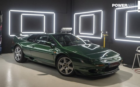 Guille prueba el Lotus Esprit V8