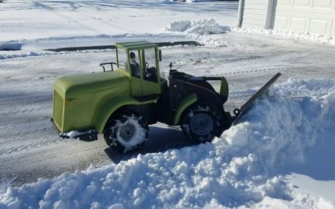 ¿Quieres que tu hijo quite la nieve del porche?