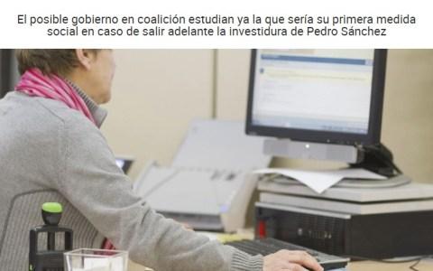 PSOE y Podemos pactan subir el SMI a 1200 euros. Un plan perfecto, sin fisuras...