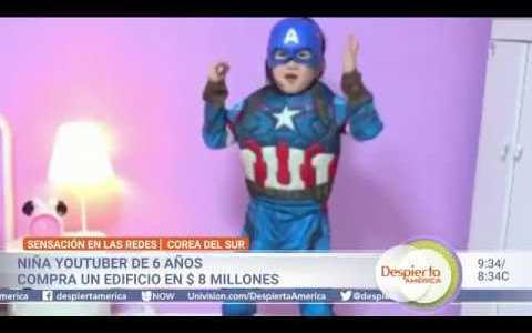 Una niña coreana youtuber de 6 años compra un edificio de 8 millones de dólares