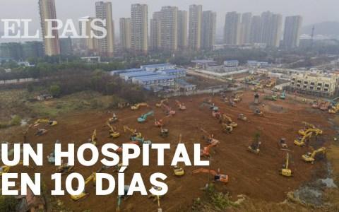 China pretende construir un hospital de urgencia en menos de 10 días para tratar a la gente contagiada con el coronavirus