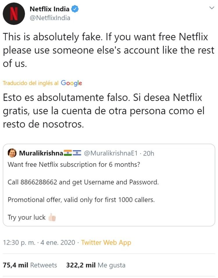 Mis primeros dieses del año para el CM de Netflix India