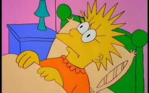 El primer capítulo de los Simpsons parece da suisa