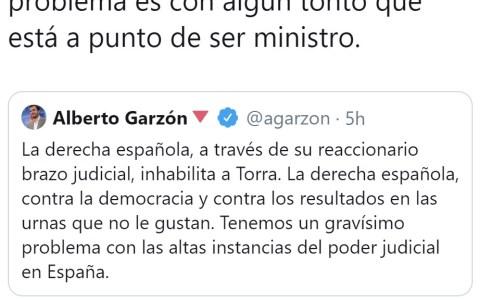 Logro desbloqueado para Garzón