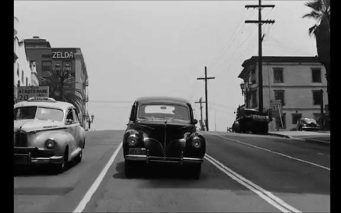 Un paseo en coche por los Ángeles en 1940