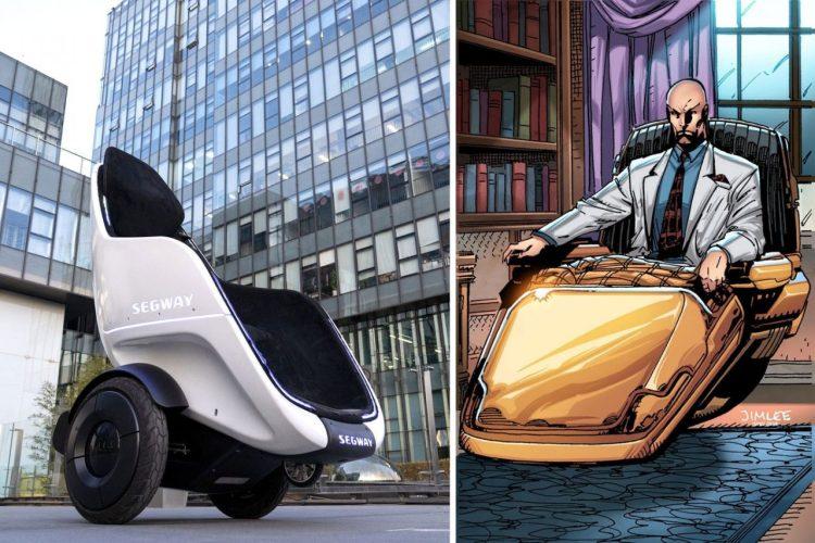 Segway crea la silla para vagos definitiva, que parece inspirada en la del Profesor Xavier (X-Men) y en Wall-E