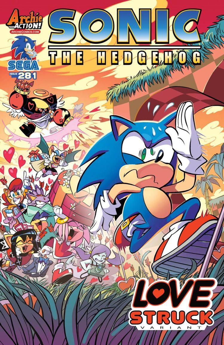 A Sonic no le gusta San Valentín...