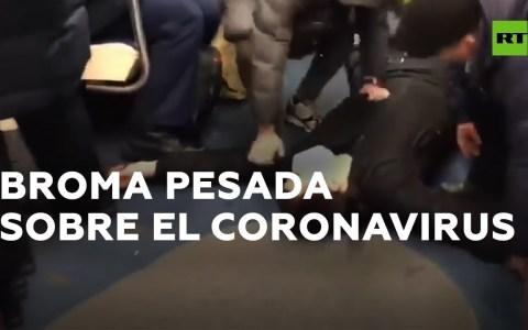 Un youtuber finge tener coronavirus y provoca el pánico en el Metro de Moscú