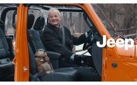 """Jeep ficha a Bill Murray para hacer una reinterpretación de """"El día de la Marmota"""" en el 02 del 02 de 2020"""
