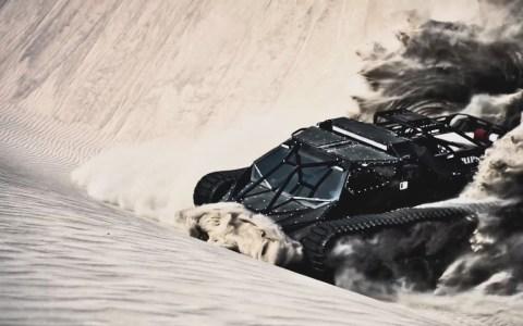 Ripsaw, un tanque biplaza ultraligero turbodiesel con 600cv