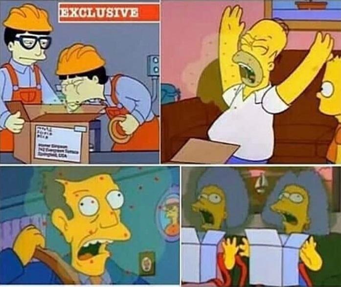 Nostradamus era el principal guionista de Los Simpson
