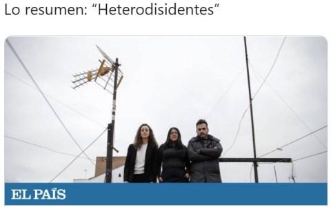 """""""Heterodisidentes"""""""