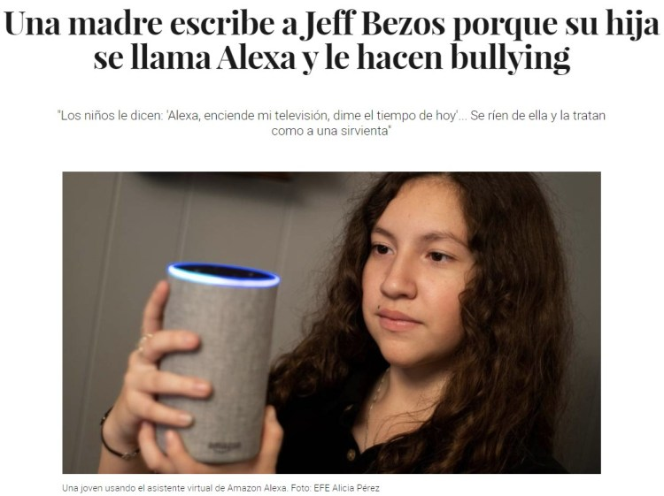 Estúpido Jeff Bezos promotor del bullying...