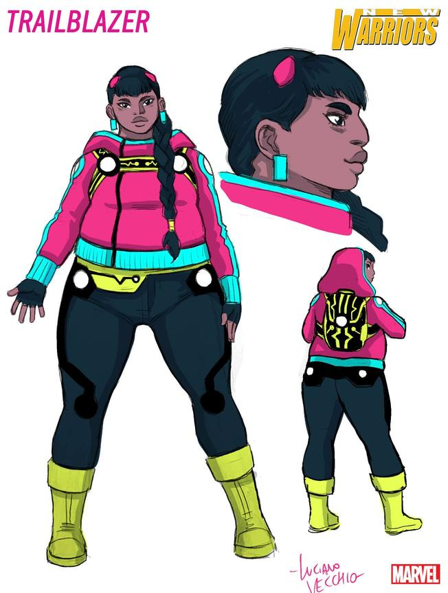 """Los """"nuevos guerreros"""" de Marvel están tan mal diseñados que parecen parodias de La Liga de la Justicia Social en plan """"meted todos los estereotipos LGTB que sea posible"""""""