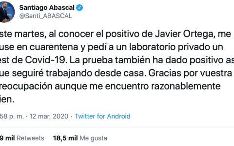 Habría que meter a Abascal, a Ortega Smith, Irene Montero y Pablo Iglesias a vivir todos en el chalet de Galapagar, así en plan Gran Hermano VIP Cuarentena edition...