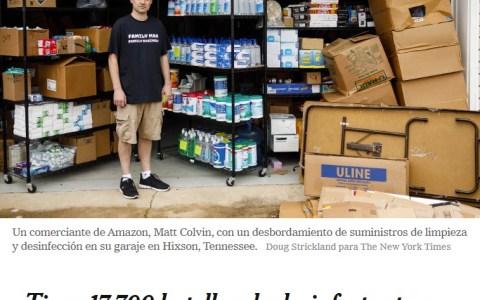 Bad Luck Coronabrian se pasó de listo: gastó decenas de miles de euros en desinfectantes y mascarillas, y ahora se las va a comer con patatas